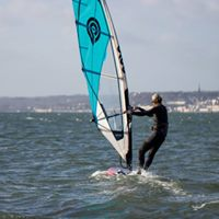 learning to windsurf, outdoor adventure in cork