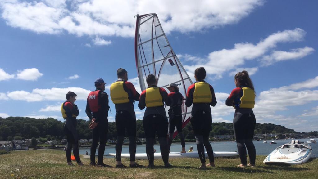 windsurf lesson in Cork Ireland