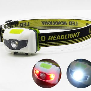 Portable Mini Led Headlamp 4 Modes Torch