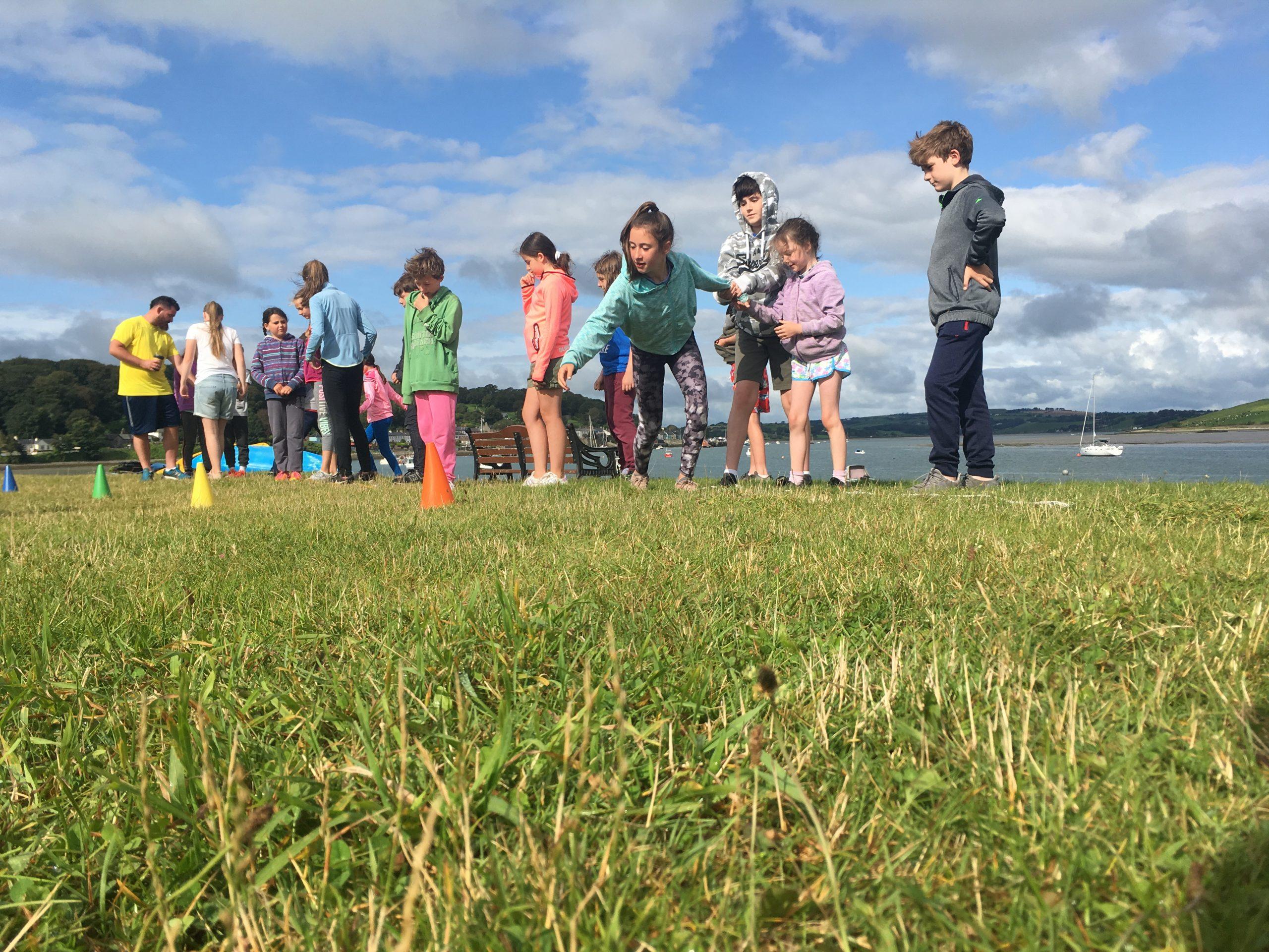 beach games school tour cork