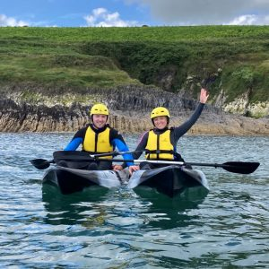 Valentines Special Offer! Coastal Kayak Tour for 2- Gift Voucher
