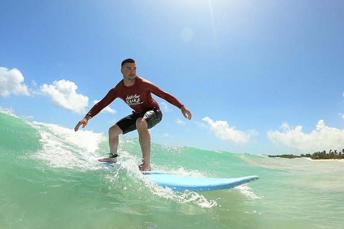 Man surfing at west cork beach owenahincha