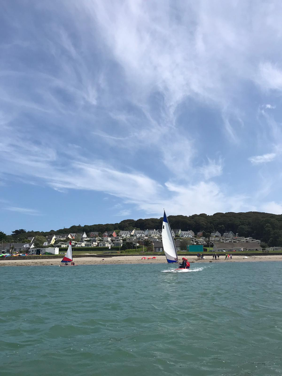 Sailing in Courtmacsherry 3