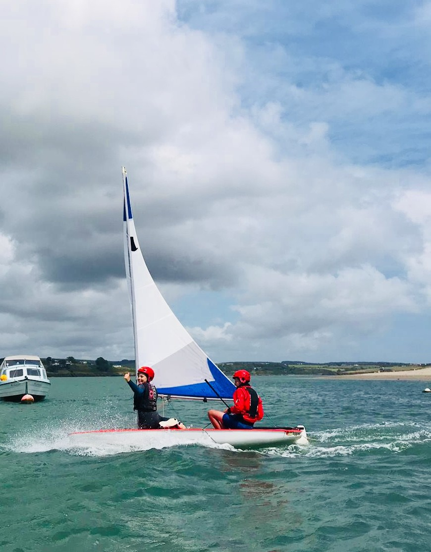 Sailing in Courtmacsherry 5