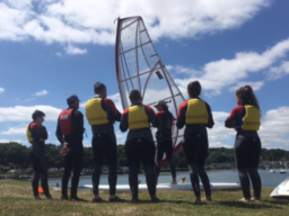 windsurf class learning windsurfing at gecko adventures
